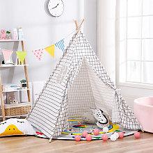 Livingandhome - Kids Indian Teepee Tent Wigwam