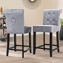 Livingandhome - Kitchen Dining Chair Velvet