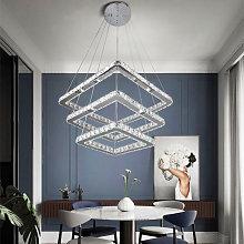 Livingandhome - LED Crystal Ceiling Light Pendant