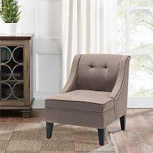 Livingandhome - Modern Upholstered Winged Side