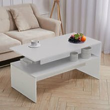 Livingandhome - Mordern Coffee Table Console Desk