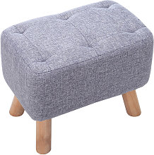 Livingandhome - Small Footstool Foot Rest Stool