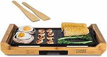 LIVIVO 2-in-1 Teppanyaki and Breakfast Grill Large