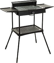 LIVIVO Electric Charcoal BBQ Grill,Indoor Outdoor