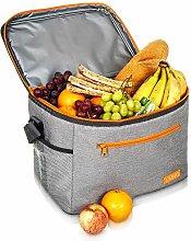 LIVIVO Premium 20 Litre 30 Can Lunch Cool Bag