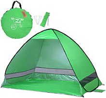 Lixada - Beach Tent Uv Protection, Green