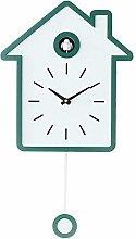 LIYACK Bird House Clock Modern Cuckoo Clock Wall