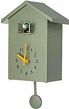 LIYACK Nordic Cuckoo Wall Clock, Cuckoo Clock Out