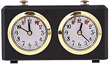 LIYANG Chess Clock Retro Analog Chess Clock Timer