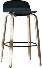 LIYG Bar Stool, Solid Wood Bar Chair Bar Cafe Bar
