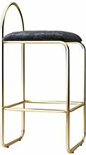 LIYG Iron bar stool, home gold high stool creative