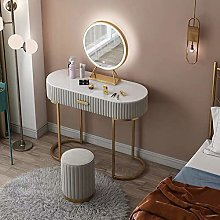 LIYIN Nordic Vanity Set with Removable LED Lighted