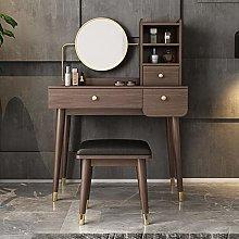 LIYIN Simple Vanity Set with Mirror Makeup