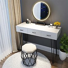 LIYIN Vanity Set with LED Lighted Mirror, Makeup