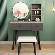 LIYIN Vanity Set with Lighted Mirror, 3 Color