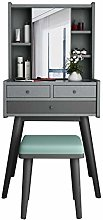 LIYIN Vanity Table Set with Removable Mirror