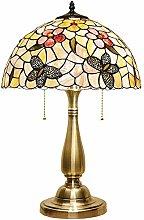 LIYONG Table Lamp - Crystal Bedside Table Lamp
