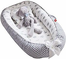 lizeyu baby nest bed with pillow 85 x 50cm