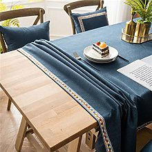 LIZHOUMIL Rectangle Tablecloth, Party Table Cloths