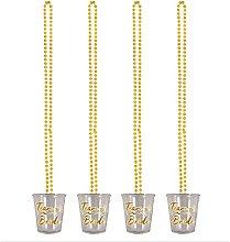 Lizzy Team Bride Hen Party Shot Glass Necklace |