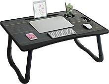 LJFYXZ Folding Computer Desk Portable Lap Desk,
