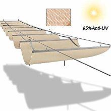 LJIANW Sun Shade Sail, Wave Shade Sails