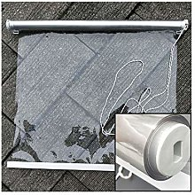 LJIANW Transparent PVC Roller blind curtain