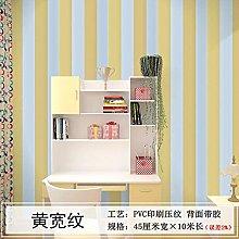 LJIEI Wallpaper PVC Waterproof Bedroom Warm