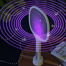 LJJ Electric Mosquito Swatter 3-In-1 Fly Zapper,