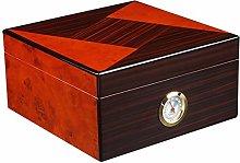 LJMG Humidors Piano Paint Cigar Humidor, Portable