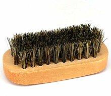 LJSLYJ Wooden Shoe Polish Applicator Brush Leather