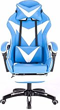 LJWJ Computer Chair Leather Desk Gaming Chair with