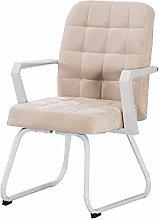 LJWJ Computer Desk Chair, with Armrests Mid-Back
