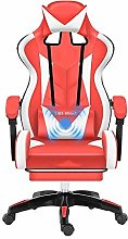 LJWJ High-Back Leather Desk Gaming Chair,with