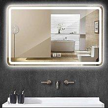 LJWJ Mirror,Bathroom,Wall-Mounted,Makeup