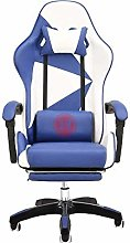 LJWJ Reclining Office Desk Chair, with Footrest