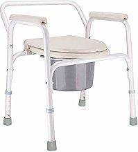 LJWJ Stool The Elderly,Commode Chair,Toilet Chair