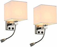 LJWJ Wall Lamp Bedside Reading Light Downlight