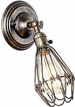 LJWJ Wall Lamp Indoor Retro Industry Illumination