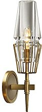 LJWJ Wall Lamp Modern Brass Brass Wall Hanging