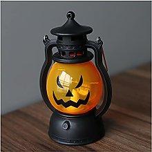 LJWLZFVT Halloween pumpkin lantern, portable