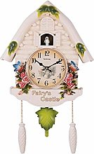 LJXiioo Cuckoo Clock Black Forest Clock with