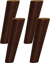 ljyasd 4 Wooden Furniture Legs, Table Legs,