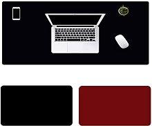 ljyasd Desk Pad, Office Desk Mat, Pu Leather Desk