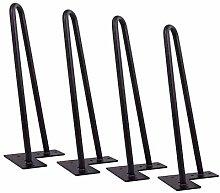 ljyasd Hairpin Table Legs Iron Furniture Cabinet