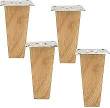 ljyasd Solid Wood Sofa Legs, Reliable Wooden