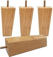 ljyasd Wood Sofa Legs, Furniture Legs, Square