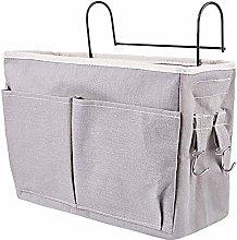 LjzlSxMF Bed Pockets with Iron Hanging Hook Caddy