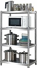 LKH Microwave Table Stainless Steel Shelf,