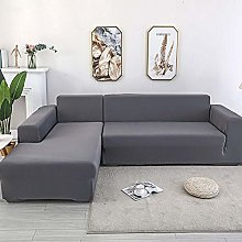 LKJHGF Corner Sofa Cover, Expandable, L-Shaped
